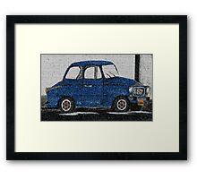 Cute Car Framed Print