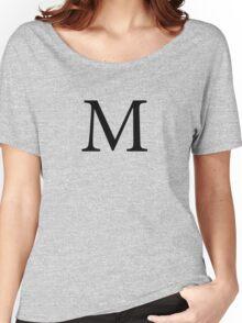 Mu Greek Letter Women's Relaxed Fit T-Shirt