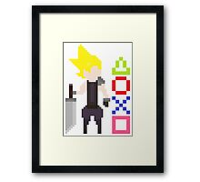 Cloud Strife Framed Print