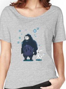 Pixel Ori and Kuro Women's Relaxed Fit T-Shirt