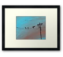 Three For a Girl Framed Print