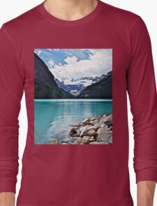 Lake Louise Alberta Long Sleeve T-Shirt