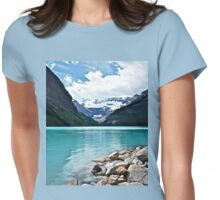 Lake Louise Alberta Womens Fitted T-Shirt