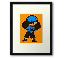 Keinage - Le Petit Boy Framed Print