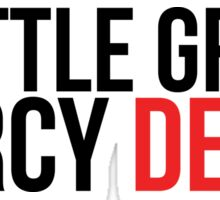 Grey's Anatomy Seattle Grace Mercy DEATH sticker Sticker