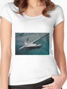 Chrome Flyer Women's Fitted Scoop T-Shirt