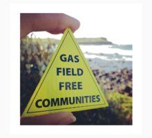 Gasfield Free CommUNITY Baby Tee