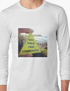 Gasfield Free CommUNITY Long Sleeve T-Shirt