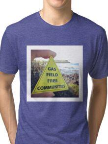 Gasfield Free CommUNITY Tri-blend T-Shirt