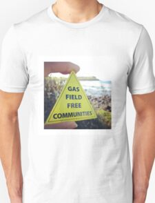 Gasfield Free CommUNITY Unisex T-Shirt