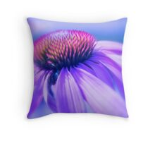 Cone Flower in Pastel Throw Pillow
