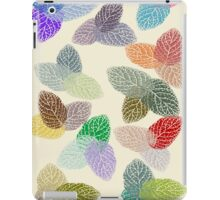Coloured Leaf Pattern 2677 Views iPad Case/Skin