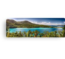 Hawknest Bay Panorama, St John, US Virgin Islands Canvas Print
