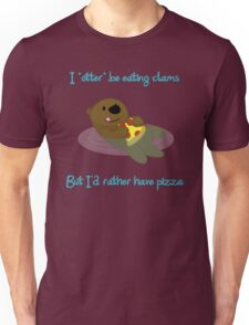 Pizza Otter Unisex T-Shirt
