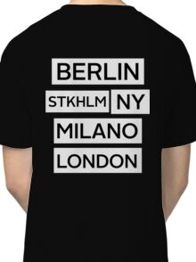 Cities Classic T-Shirt