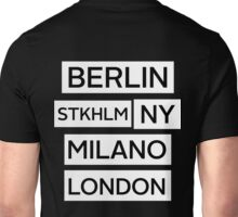 Cities Unisex T-Shirt
