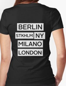 Cities Womens Fitted T-Shirt