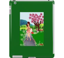 Its Spring In Windy wellington:- A Print (1641 Views) iPad Case/Skin