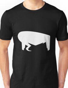 Hair white Unisex T-Shirt