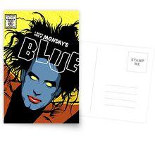 Post-Punk Blue Postcards