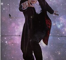 Doctor Who: 12th Doctor Galaxy Print by Mdeno