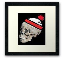 Skulls with Hats - Where's Waldo Framed Print