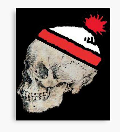 Skulls with Hats - Where's Waldo Canvas Print