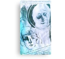 Ego and Self Canvas Print