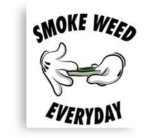 Smoke weed everyday Canvas Print