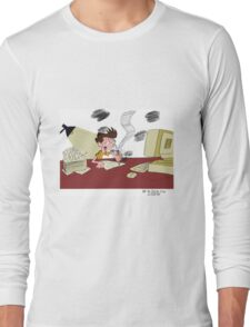 Spending All My Time Working on Animation Nonstop Long Sleeve T-Shirt