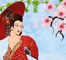 Geisha (15256  views) by aldona