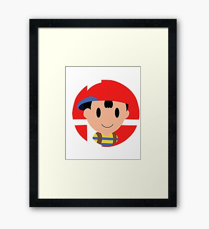 Super Smash Bros.: Ness Framed Print