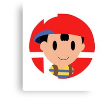 Super Smash Bros.: Ness Canvas Print