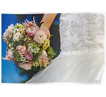 Bouquet & Dress  Poster