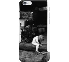 Sauna elf iPhone Case/Skin