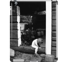 Sauna elf iPad Case/Skin