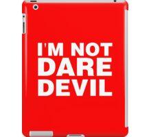im not daredevil iPad Case/Skin