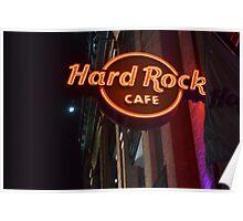 Hard Rock Cafe Baltimore Poster