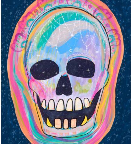 Sugar Skull   Dia de los Muertos, Day of the Dead Sticker