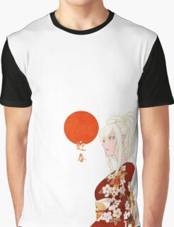 Kimono Shinobu ; Kiss Shot Graphic T-Shirt