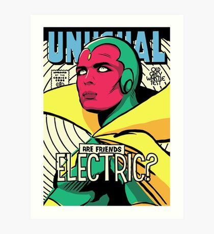 Post-Punk Electric Art Print