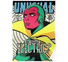 Post-Punk Electric Poster