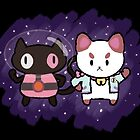 SPACE CATS! by Shabnam Salek