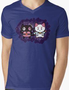 SPACE CATS! Mens V-Neck T-Shirt