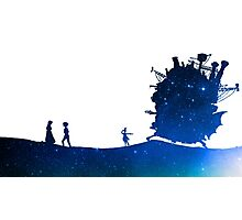 Quiet Feelings - Howl's Moving Castle Photographic Print