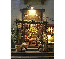Sorrento's Shop Photographic Print