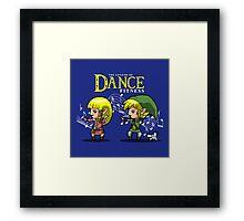The Legend of dance fitness  Framed Print