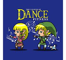 The Legend of dance fitness  Photographic Print
