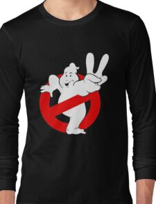 "Piss "" Ghost Buster "" Long Sleeve T-Shirt"