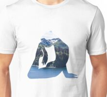 Tree Pose on a Mountain Unisex T-Shirt
